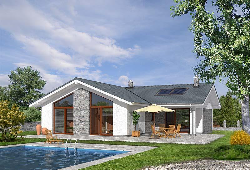 Dřevostavby typové domy