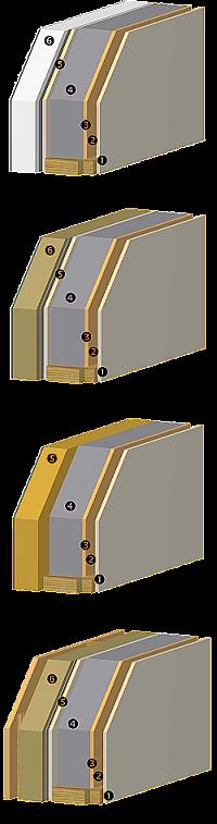 Konstrukce difusně otevřená D.N.K